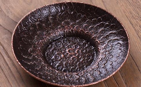 金属杯托-日式锤纹