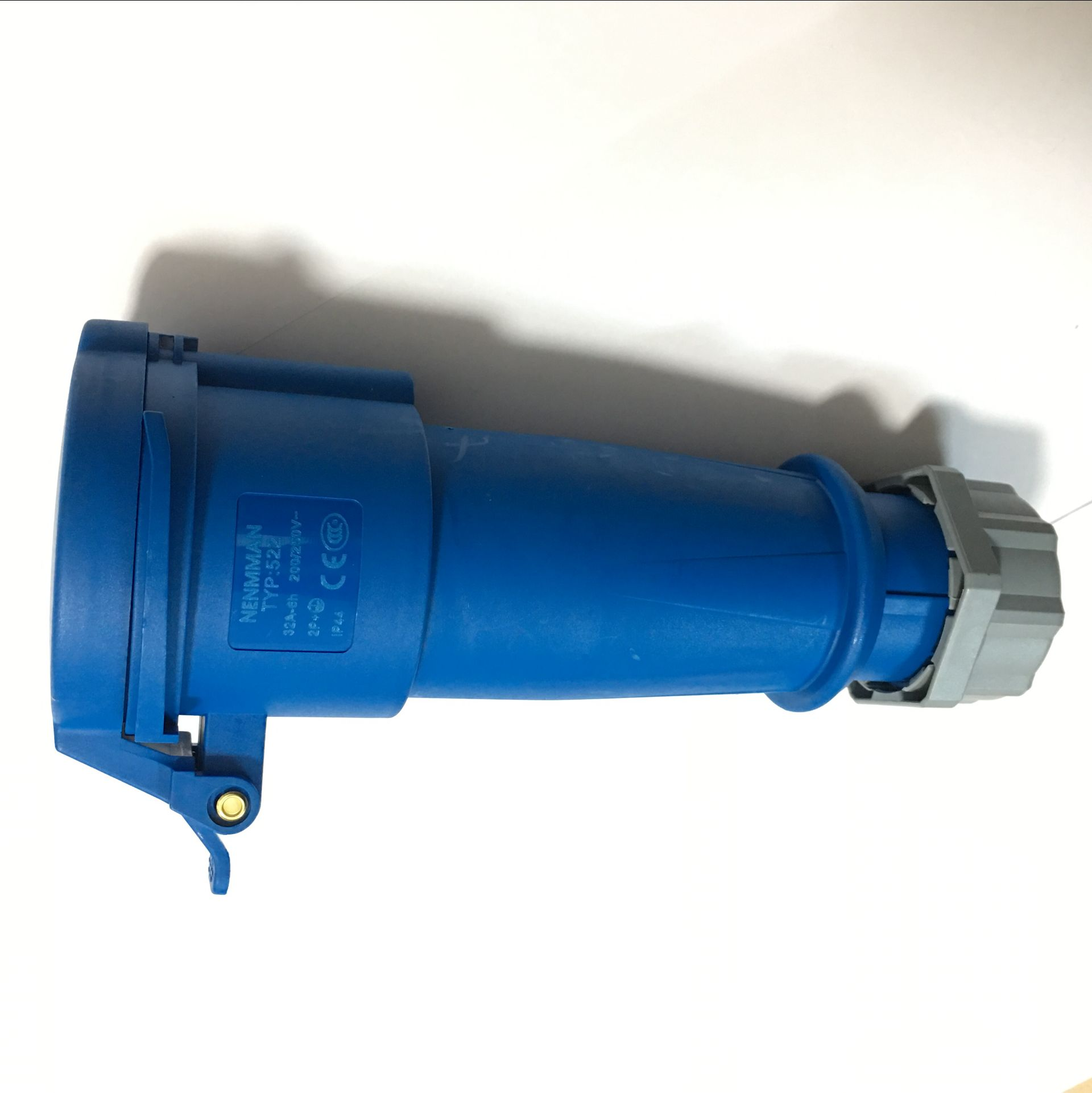 工业防水电源连接器插座TYP-1237