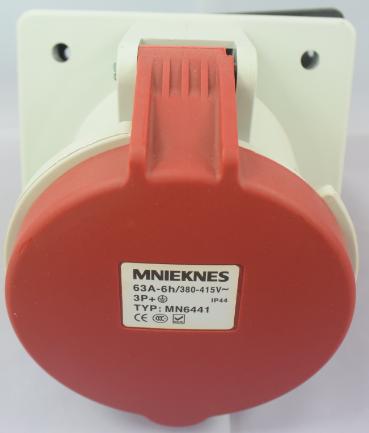 工业配电柜暗装专业插座TYP-MN6441