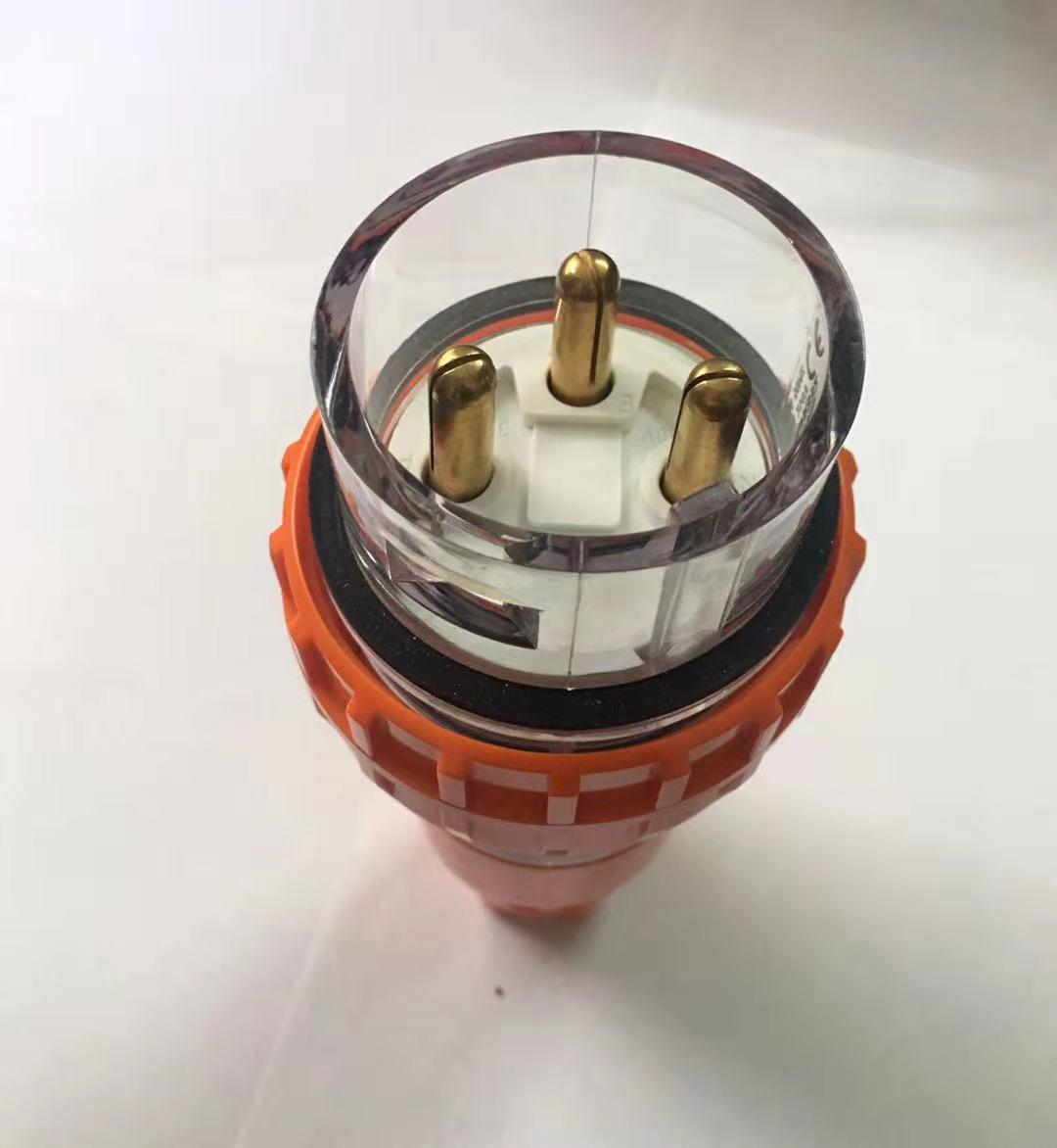 工业户外防雨淋插头TYP-56P332