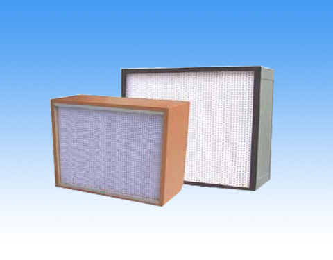 Use of air filter