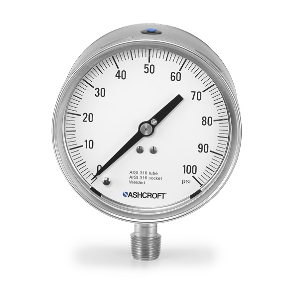 1209 不銹鋼安全結構壓力表