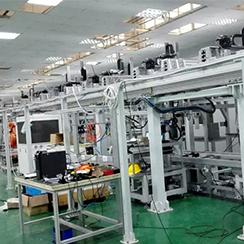 自动化工厂物流线