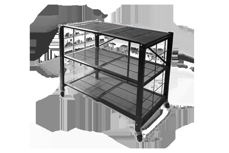 折叠式移动置物架