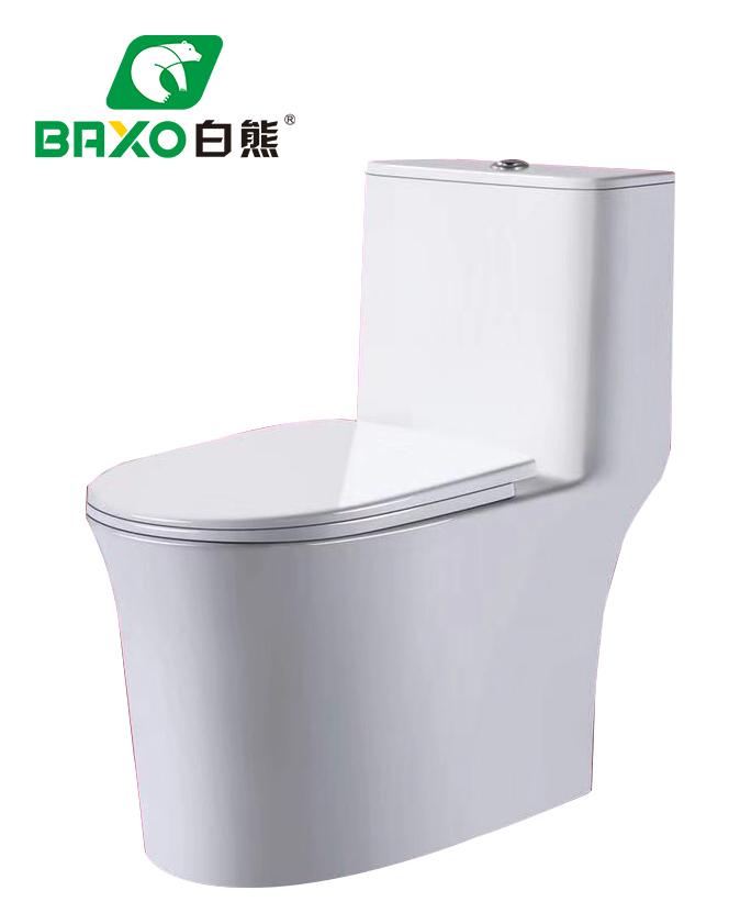 BX-2880大管道連體坐便器