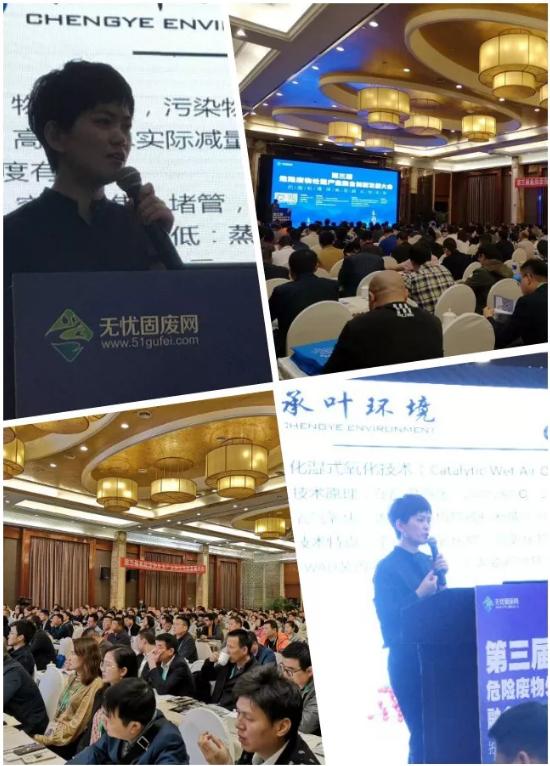 张彩霞在杭州危废会议演讲