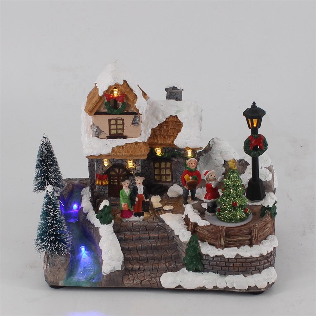 福建亿诺圣诞树脂工艺品的制作与保养有这些方面,你知道吗?