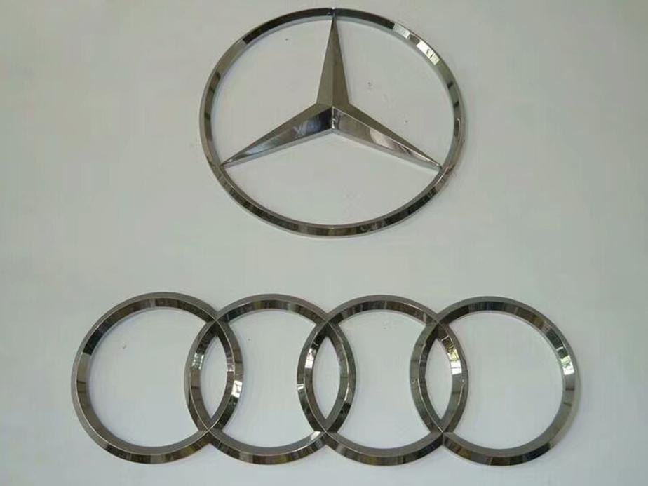 三维汽车标识
