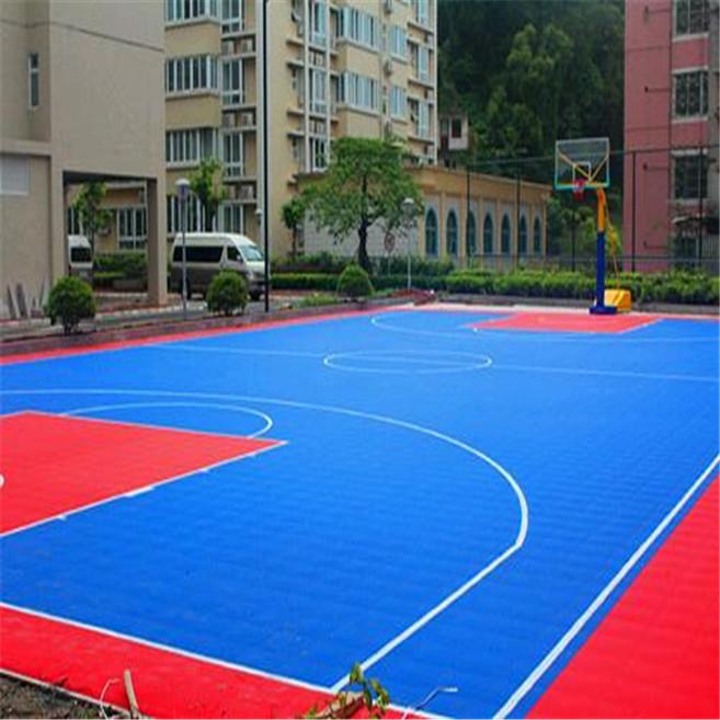 悬浮式拼装地板-篮球场
