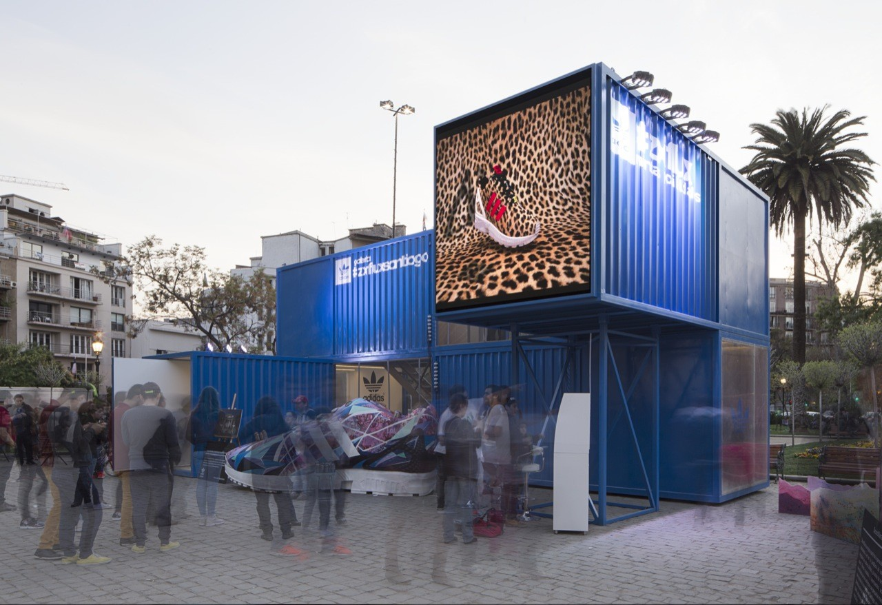 双层集装移动展厅 l 集装箱品牌巡展