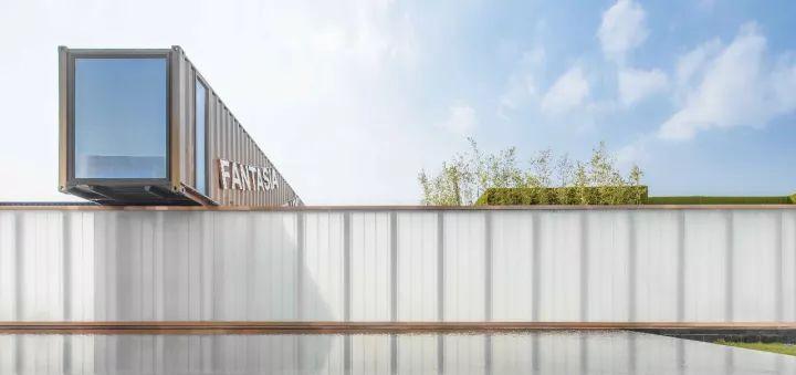 集装箱售楼处 | 那些被回收的集装箱货柜改造成的精致集装箱售楼处!_上海集装客
