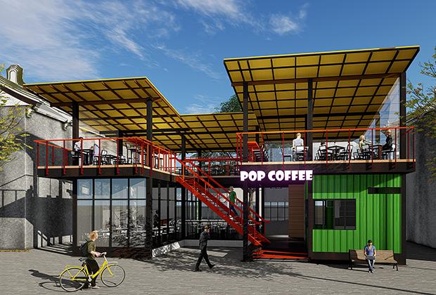 集装箱咖啡馆 I 集装箱唱吧餐饮 I 工业风集装箱休闲中心