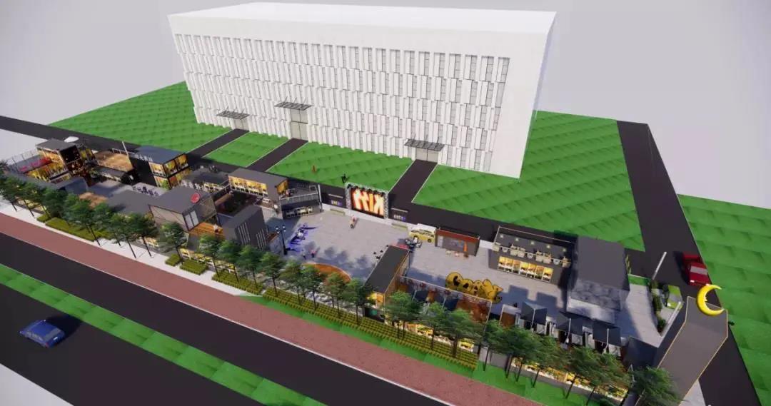 5月8日一起开箱,济宁创新谷2000平美食集装箱小镇明日起营业