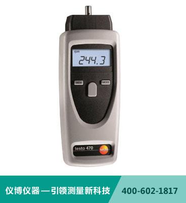 testo 470 - 精密型光�W/�C械�D速�y量�x