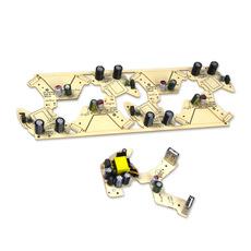 少女粉红可爱电源插座PCBA方案开发SMT贴片加工生产后焊组装