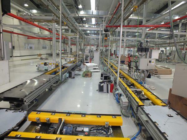 汽车玻璃生产线