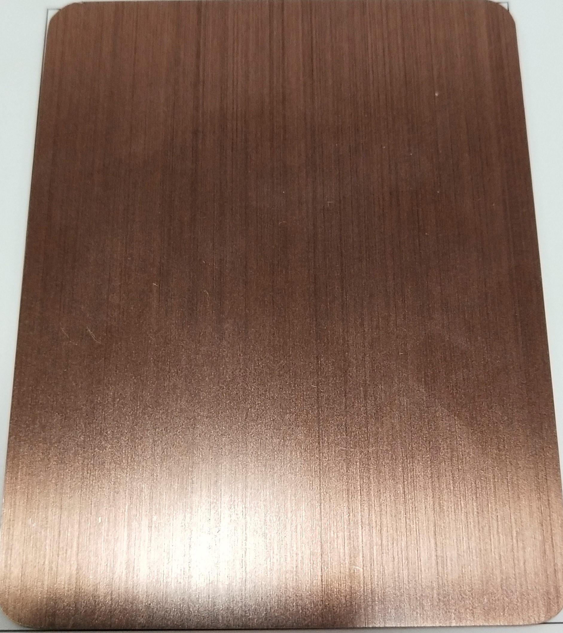 浅红古铜_不锈钢仿古做旧板
