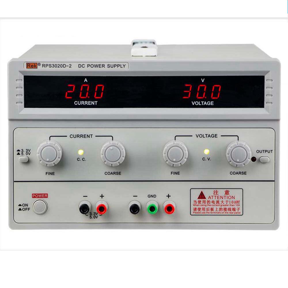 美瑞克RPS3030D-2双路输出直流稳压电源