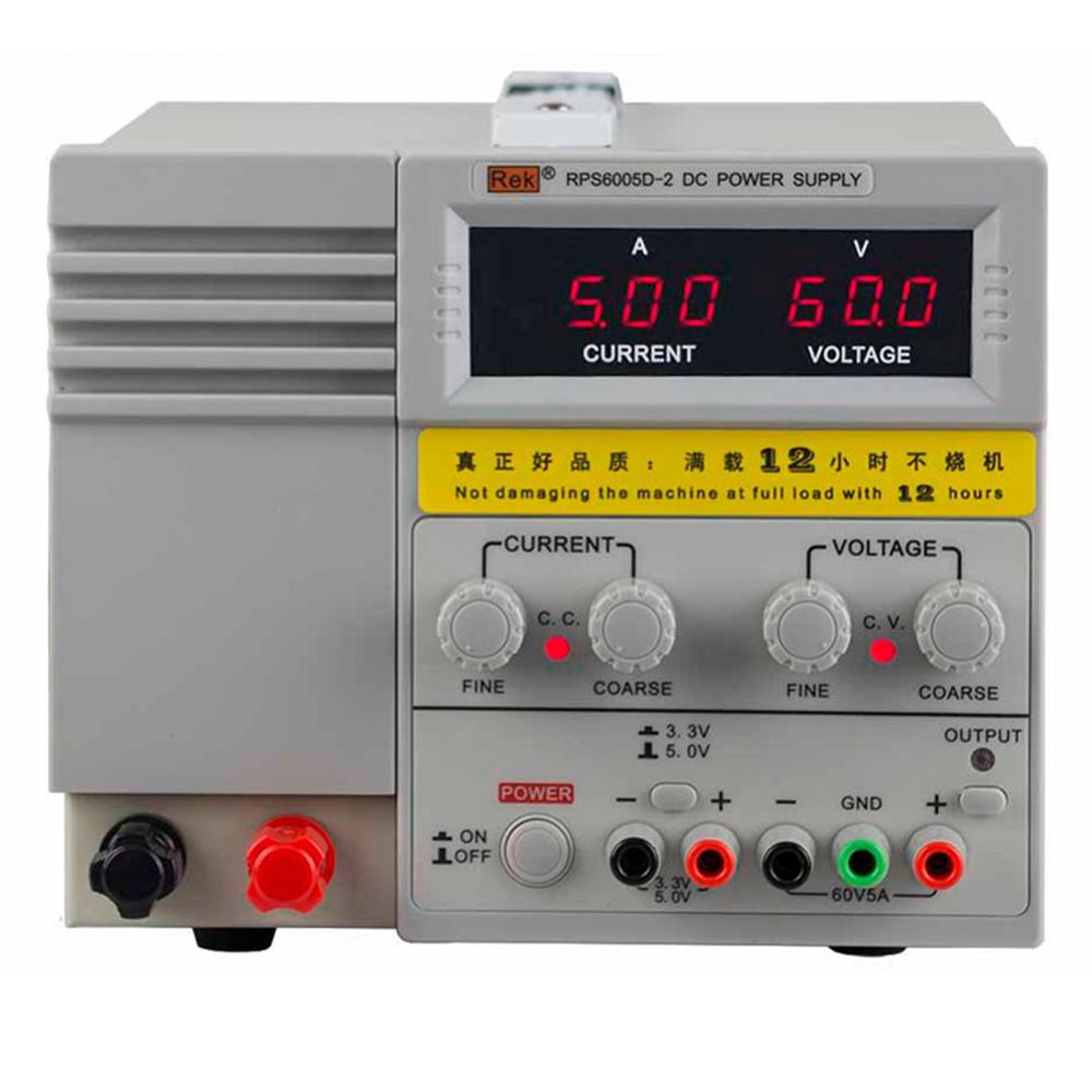 美瑞克RPS6005D-2双路输出直流稳压电源