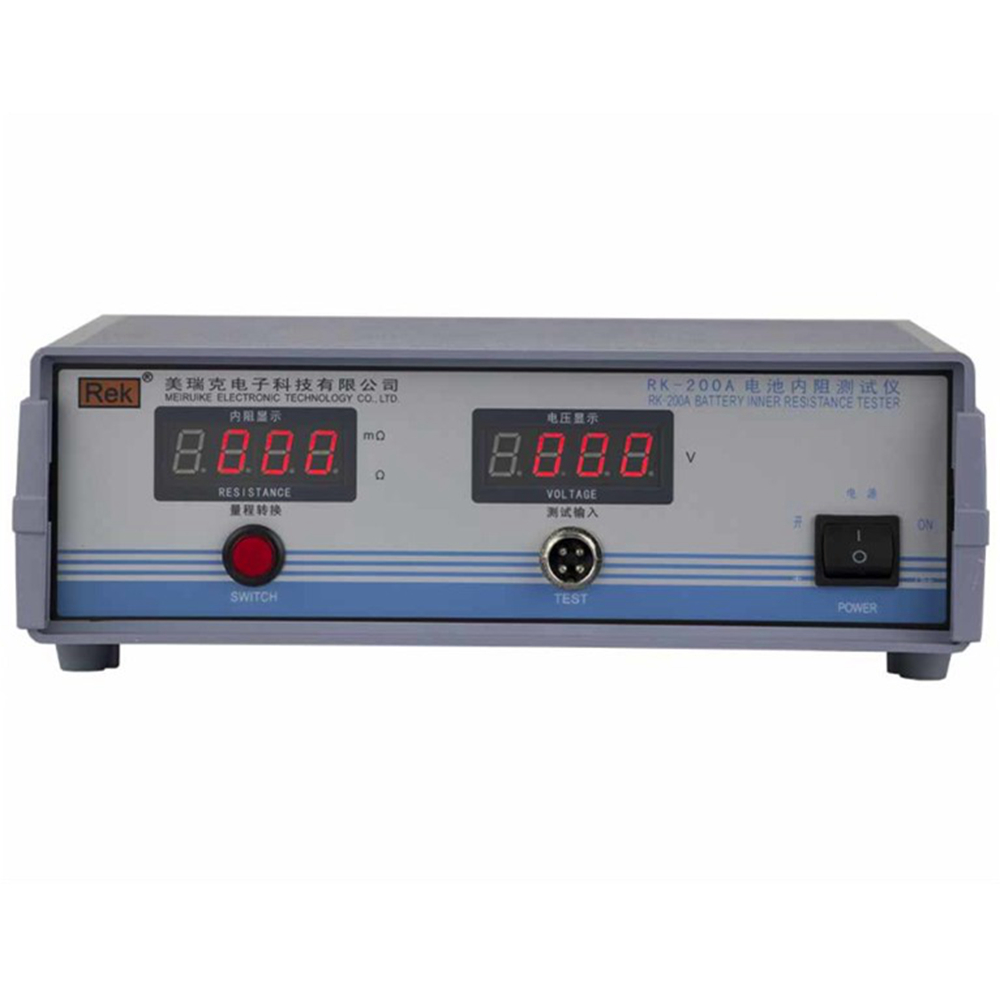 美瑞克RK200A电池内阻测试仪