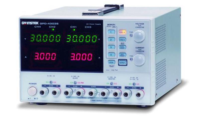固纬GPD系列(线性)可编程直流稳压电源GPD-2303S/GPD-3303D/GPD-3303S/GPD-4303S