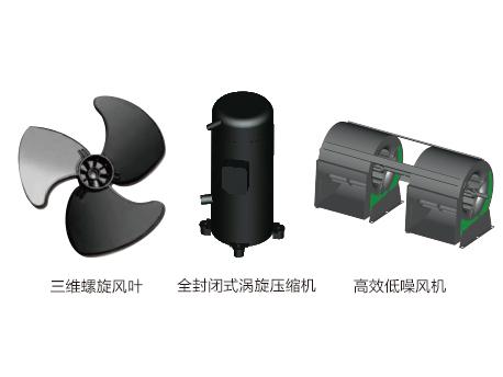 全封闭涡旋压缩机低噪音设计