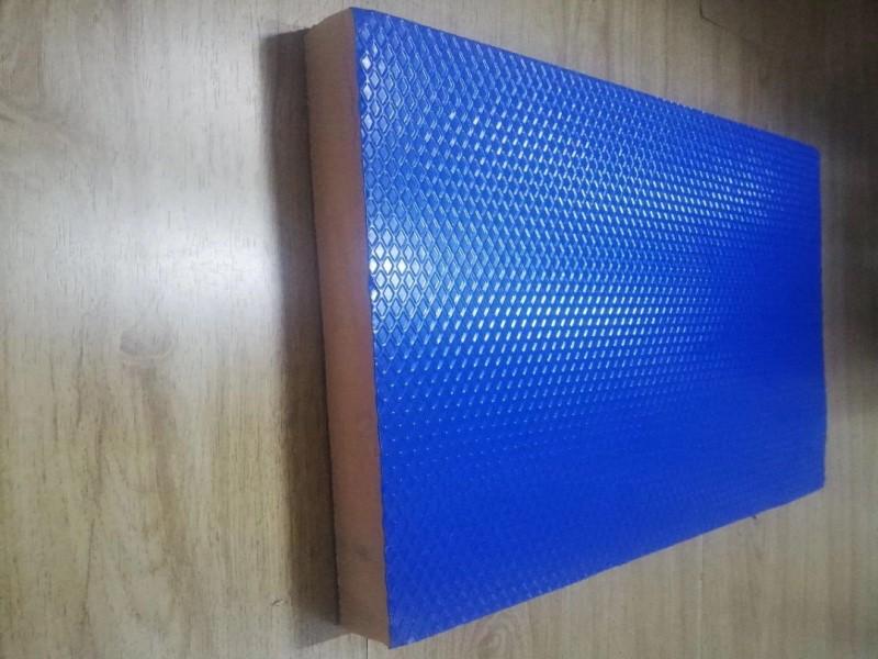 蓝色彩钢复合酚醛风管板