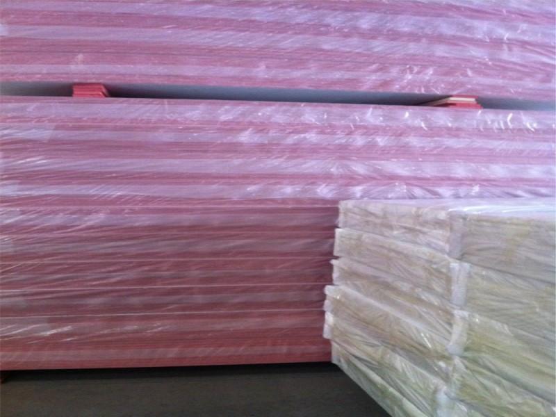 双面铝箔挤塑风管板(红色)