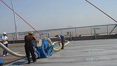 路桥面抛丸和防水处理