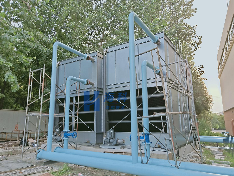定制横流闭式冷却塔如期交货-无锡新濠天地冷却技术有限公司
