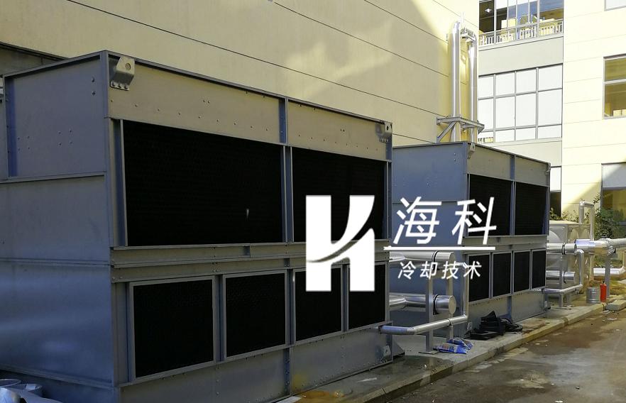 海天注塑机闭式冷却塔回访工作顺利结束-无锡新濠天地冷却技术有限公司