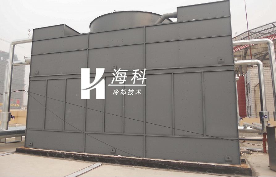 空调横流闭式冷却塔顺利通过验收-无锡新濠天地冷却技术有限公司