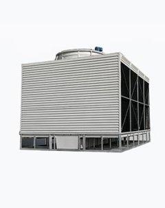 横流闭式冷却塔单进风