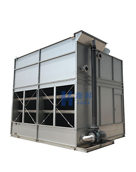 横流(复合流)闭式冷却塔单进风
