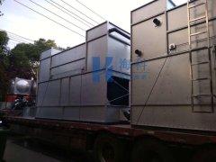 压铸机循环水系统闭式冷却塔完成生产