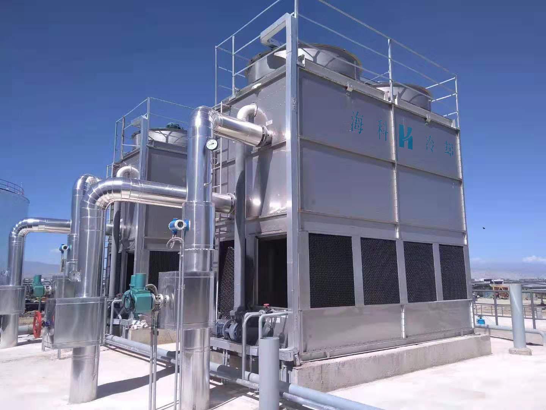 反应釜用逆流闭式冷却塔