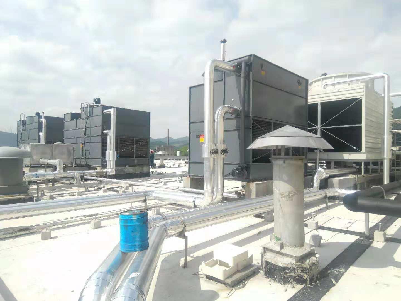 山西某食品公司冷冻机用横流闭式冷却塔