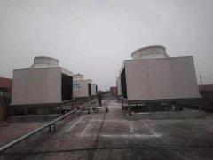 医药行业冷冻机用冷却塔完成验收