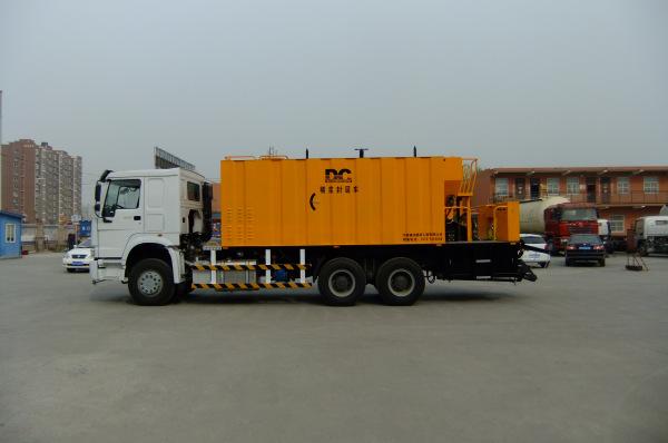 DCXF1035-Ⅱ new slurry sealer vehicle