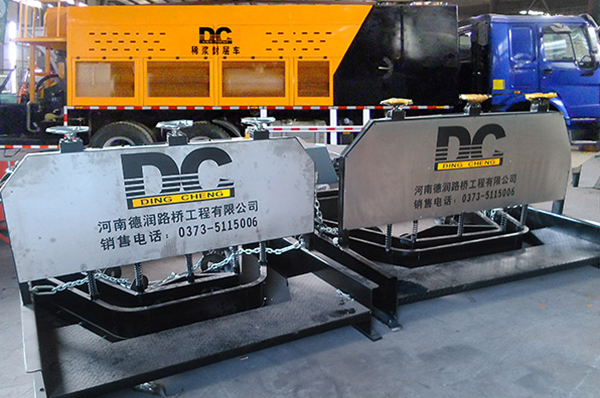 DCVT1500 Rut repair paving box