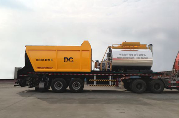 DCLY0635 road surface multi-function maintenance vehicle