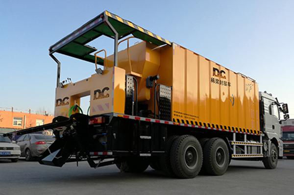 DCXF1035-Ⅱnew slurry sealer vehicle