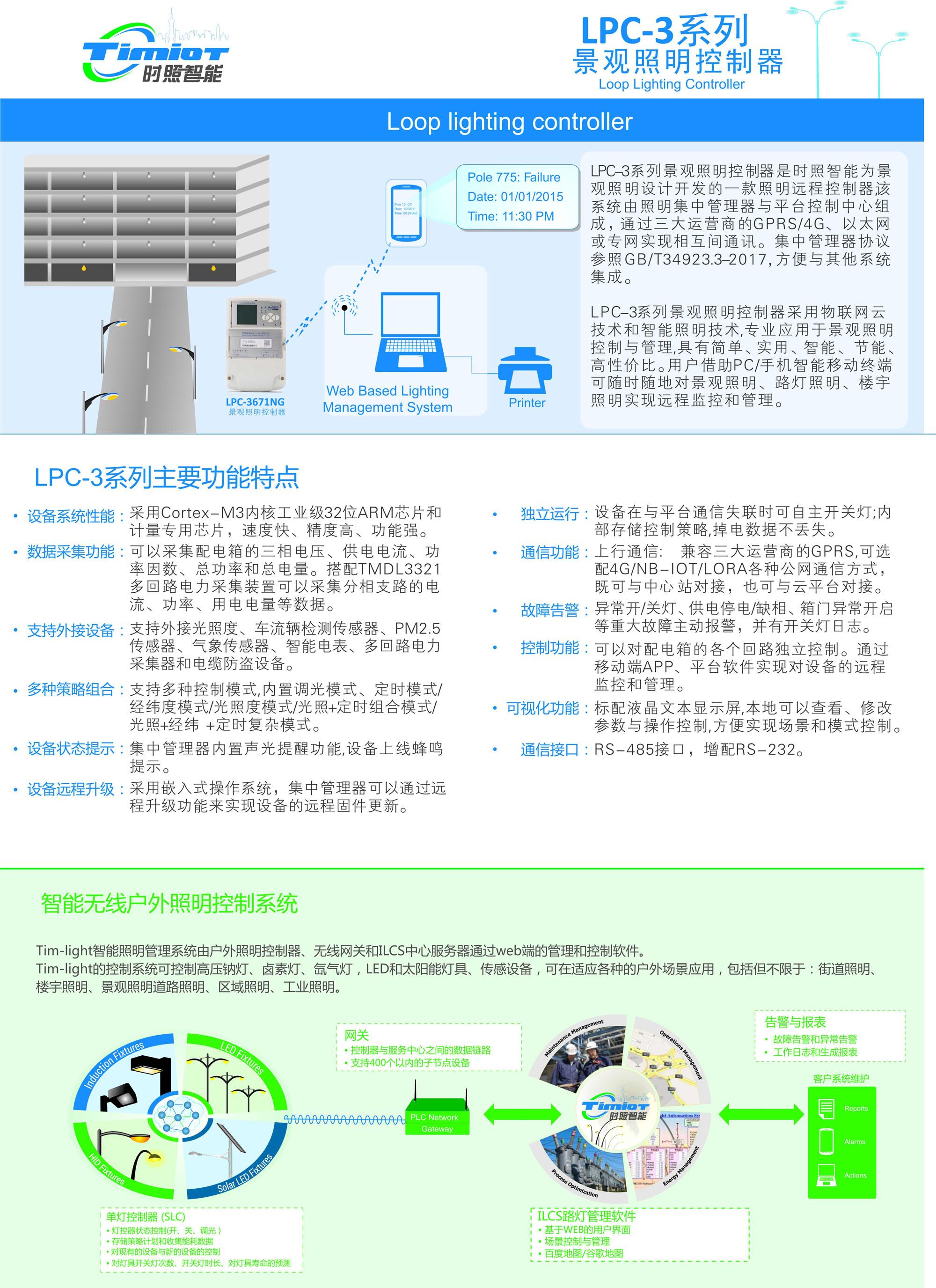 LPC3671NG景观照明控制器