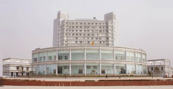 芜湖某行政大楼亮化工程案例