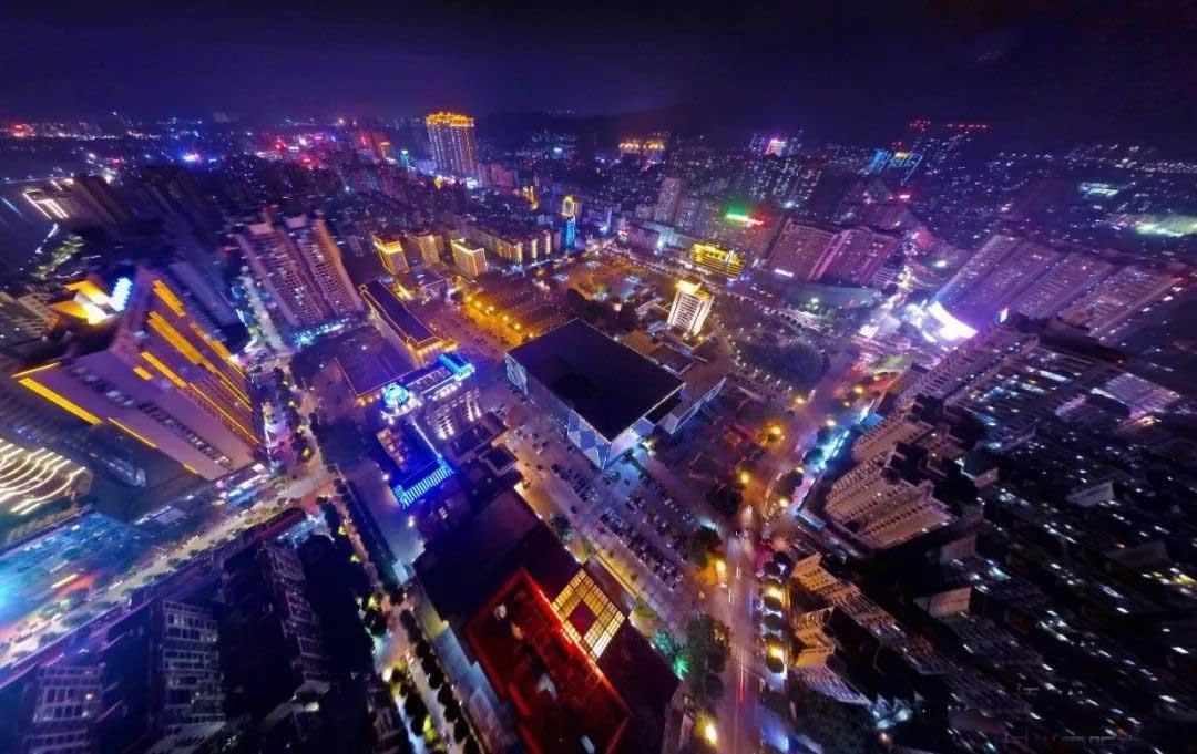 广西某市路灯控制系统案例