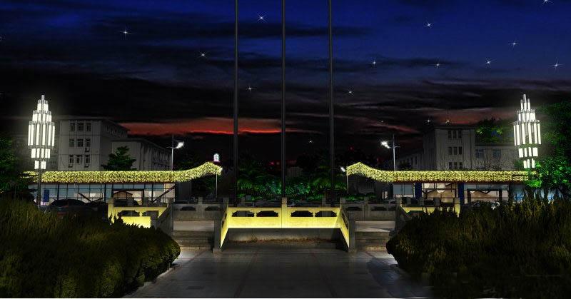 夜景照明控制器