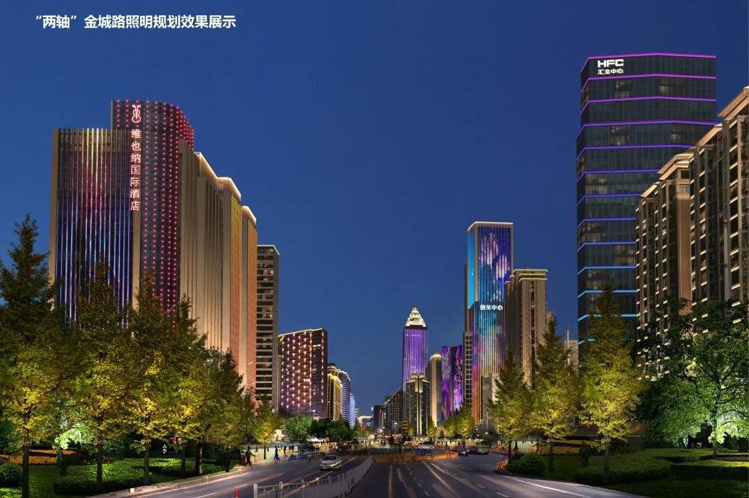 杭州萧山夜景照明