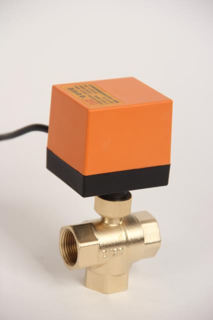 太阳能电动三通球阀(节能型) ZLQF-320