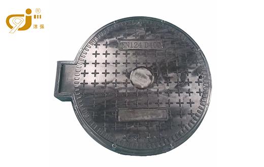 带铰链圆形重型井盖660