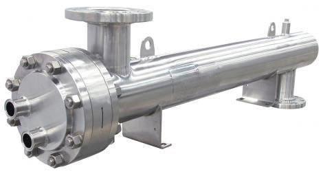 卫生型双管板换热器